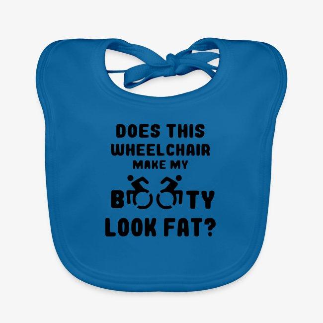Lijkt mijn kont dikker in deze rolstoel 001