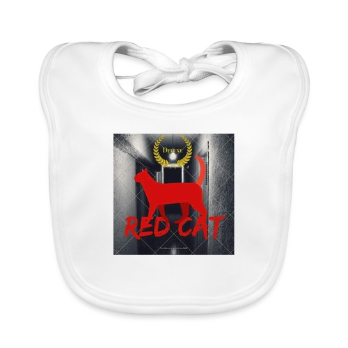 Red Cat (Deluxe) - Baby Organic Bib