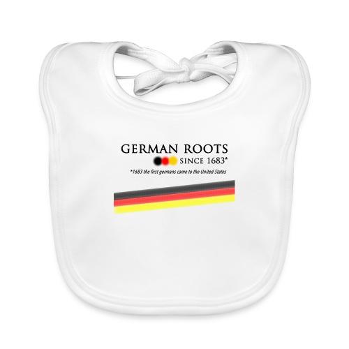 German roots in USA - Baby Bio-Lätzchen