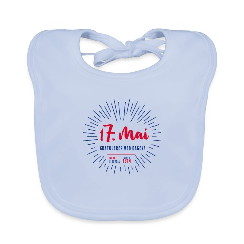 17. mai T-skjorte - Det norske plagg - Baby biosmekke
