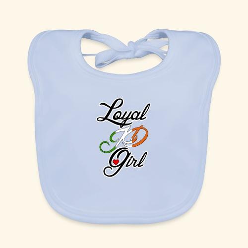 Loyal JD girl - Baby Organic Bib