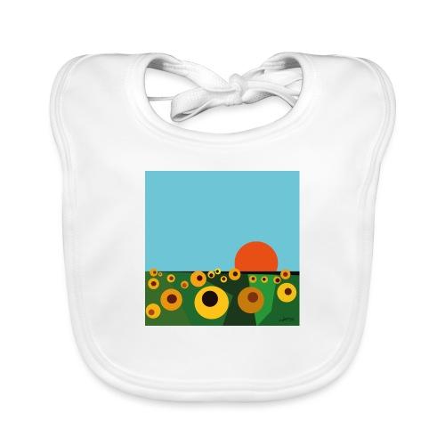 Sunflower - Baby Organic Bib