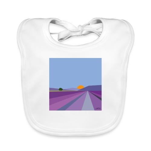 Lavender - Baby Organic Bib