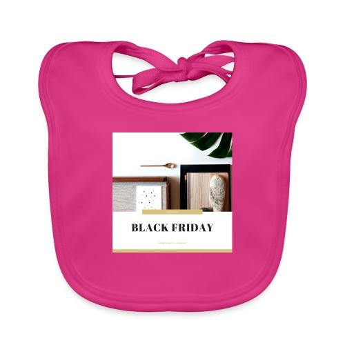 Black Friday - Babero de algodón orgánico para bebés