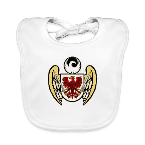 Flügel Adler Schild Phönix Phoenix Schwert - Baby Bio-Lätzchen