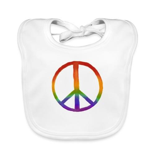 Peace - Bavaglino ecologico per neonato