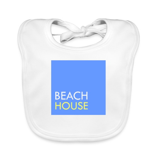 Blue Summer Logo - Baby Organic Bib