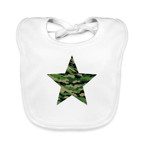 CamouflageStern - Baby Bio-Lätzchen