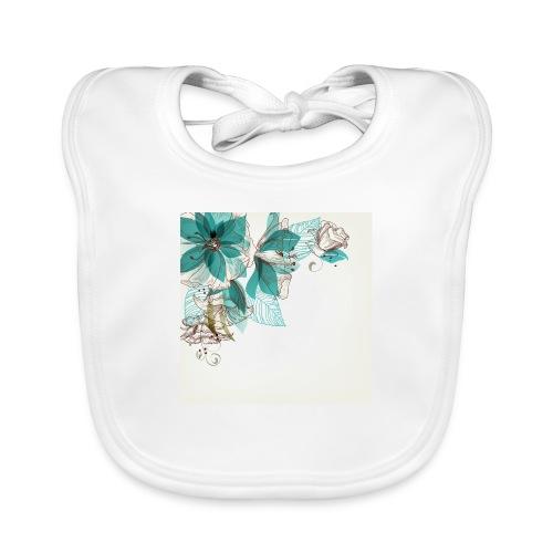 Tropical Flora - Baby Organic Bib