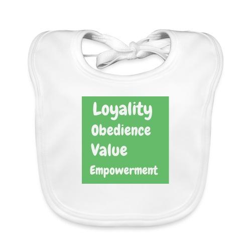 loyality - Ekologisk babyhaklapp