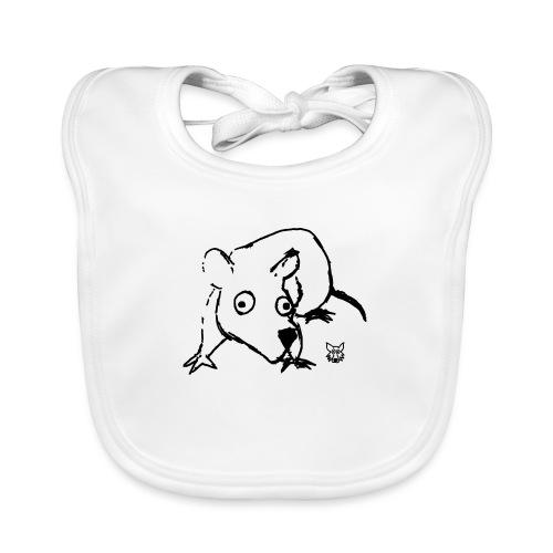 one line mouse - Bavaglino ecologico per neonato