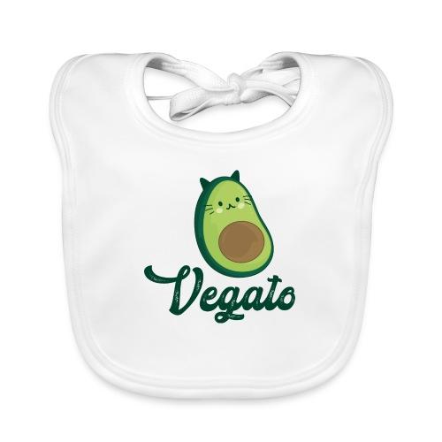 Vegato - Babero de algodón orgánico para bebés