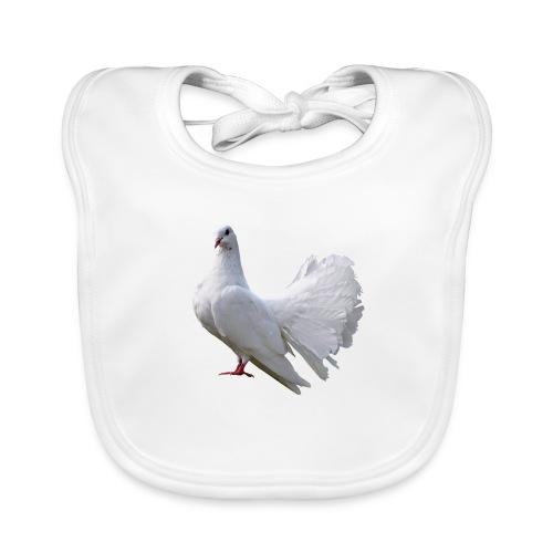 Taube Brieftaube Friedenstaube Vogel - Baby Bio-Lätzchen