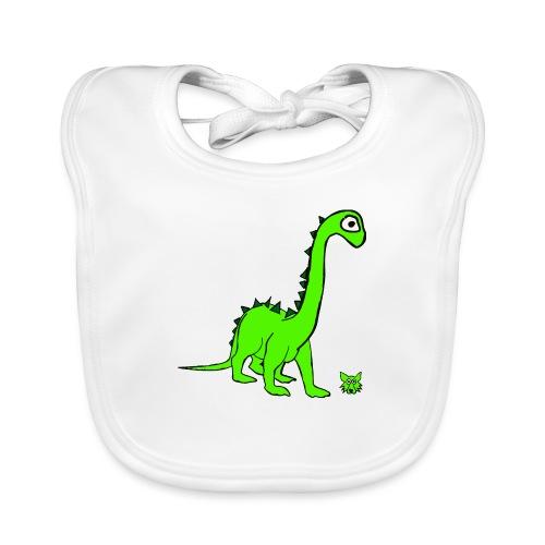 dinosauro - Bavaglino ecologico per neonato