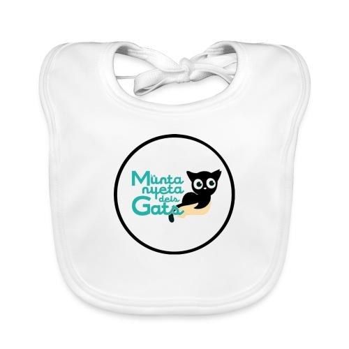 La Muntanyeta dels Gats Logo - Babero de algodón orgánico para bebés