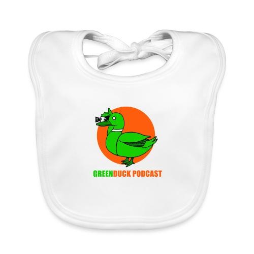 Greenduck Podcast Logo - Hagesmække af økologisk bomuld