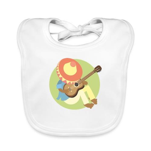 Gitarre spielen - Baby Bio-Lätzchen