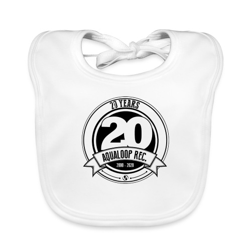20Y Aqualoop Records - Organic Baby Bibs