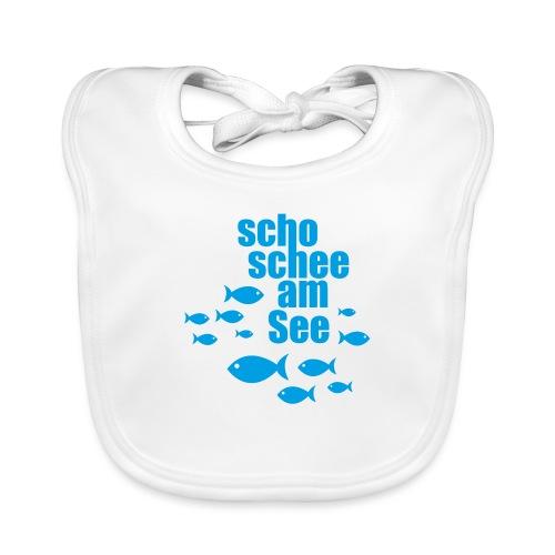scho schee am See Fische - Baby Bio-Lätzchen