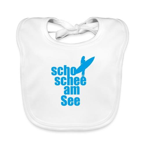 scho schee am See Surferin 02 - Baby Bio-Lätzchen
