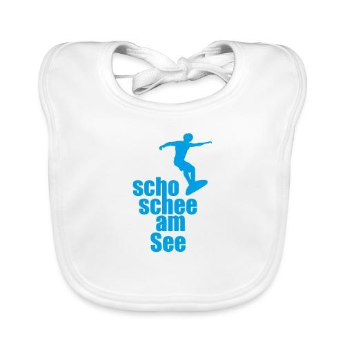 scho schee am See Surfer 02 - Baby Bio-Lätzchen