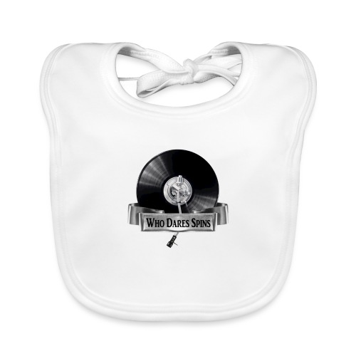 WHO DARES SPINS - Organic Baby Bibs