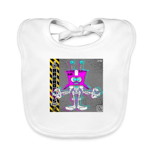 The B.O.X. Robot! (Basic Office Xerox)! - Hagesmække af økologisk bomuld