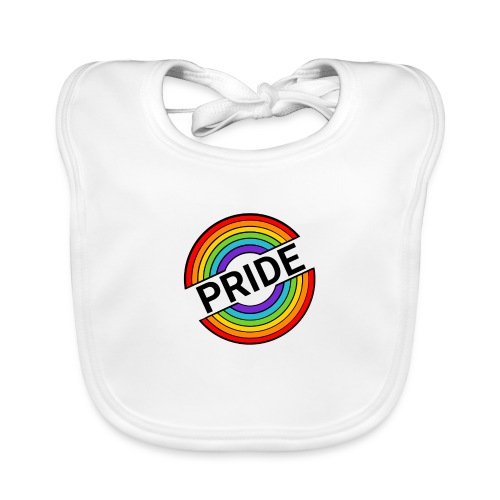 Pride regnbue - Hagesmække af økologisk bomuld