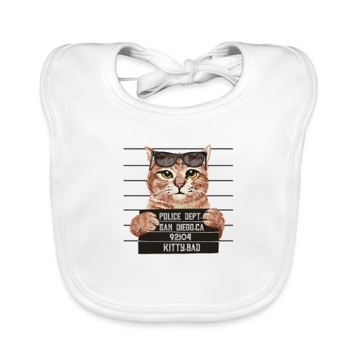 kitty bad - Bavoir bio Bébé
