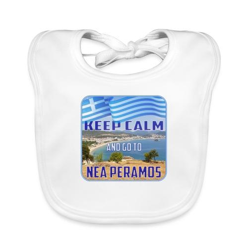 KEEP CALM and go to NEA PERAMOS / Greece - Baby Bio-Lätzchen