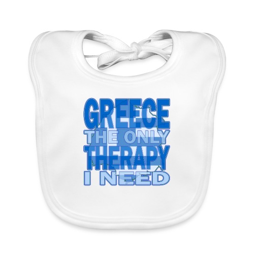 GREECE the only therapy i need - Thassos / Thasos - Baby Bio-Lätzchen