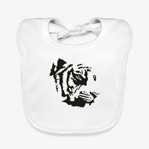 Tiger head - Bavoir bio Bébé