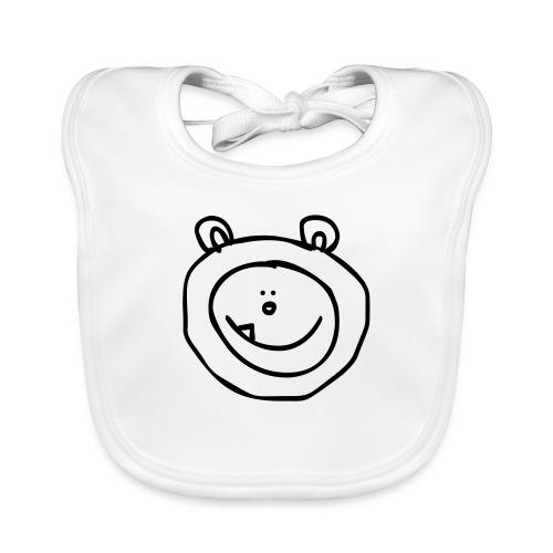 sneeuwbeer - Bio-slabbetje voor baby's