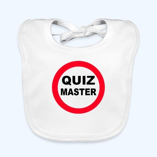 Quiz Master Stop Sign - Baby Organic Bib