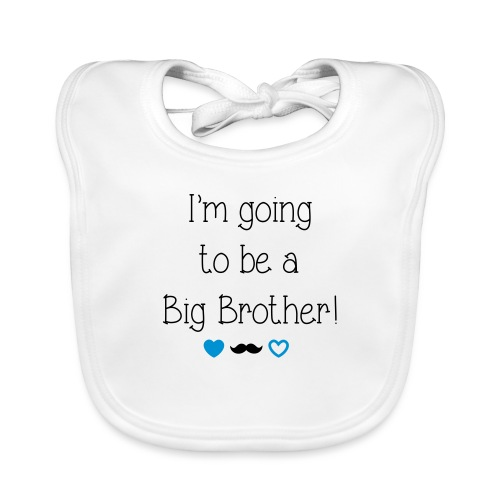 I'm going to be a big brother - Baby Organic Bib