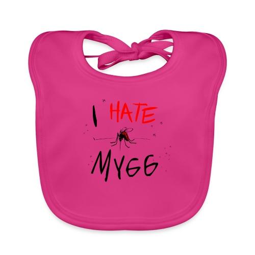 I hate mygg - Ekologisk babyhaklapp