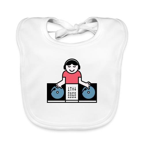 Vinyl DJ - Bio-slabbetje voor baby's