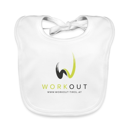 Workout Color mit Url - Baby Bio-Lätzchen