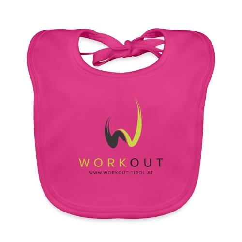 Workout Color mit Url - Baby Bio-Lätzchen