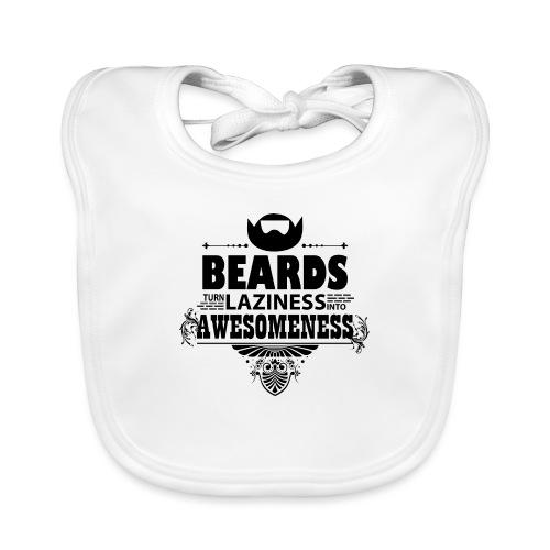 beards_laziness_awesomeness 10x - Vauvan luomuruokalappu