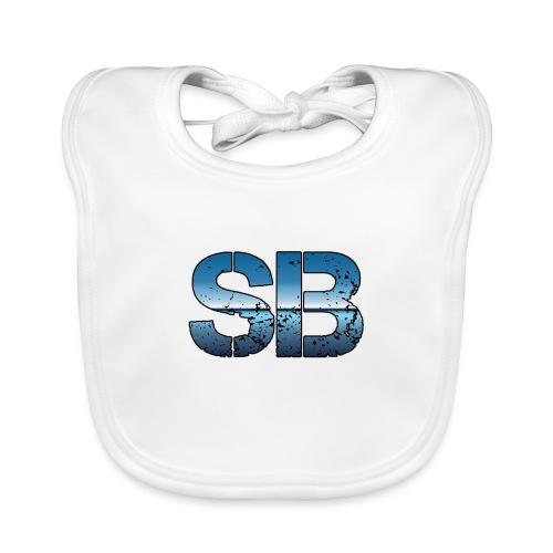 SB Logo - Baby økologisk hagesmæk