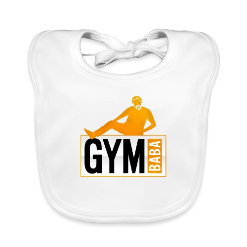 Gym baba 2 orange - Bavoir bio Bébé