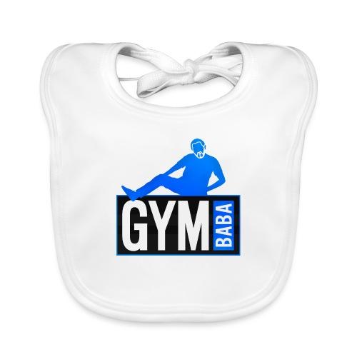 Gym baba 2 bleu - Bavoir bio Bébé
