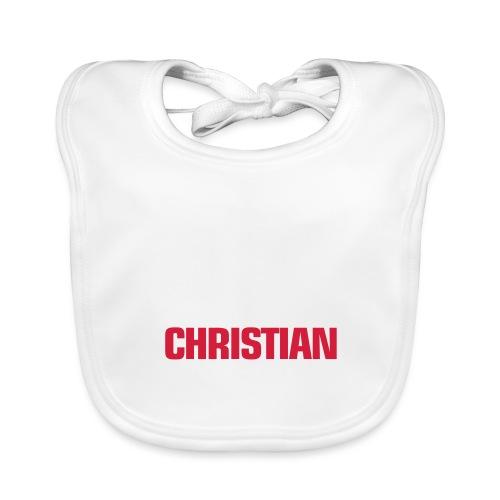 PROUD TO BE CHRISTIAN - Baby Organic Bib