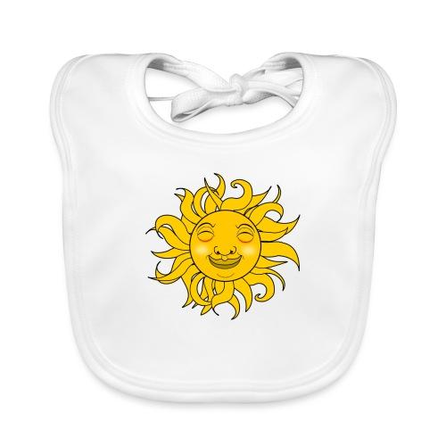 Sol - Babero de algodón orgánico para bebés