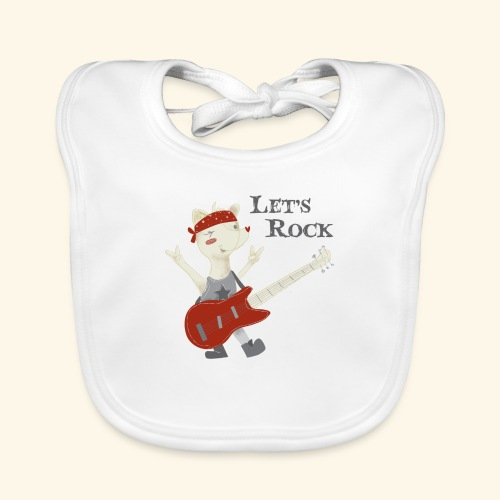 rock lupet - Baby Organic Bib