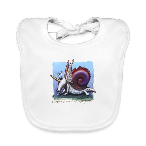 Unichiocciolo - Bavaglino ecologico per neonato