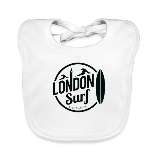 London Surf - Black - Organic Baby Bibs