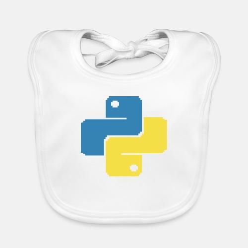 Python Pixelart - Baby Organic Bib