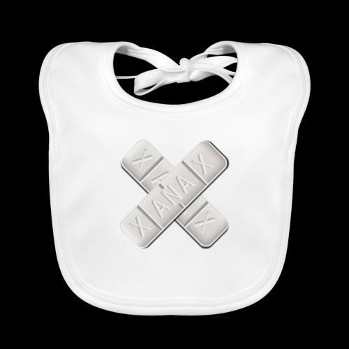 Xanax X Logo - Baby Bio-Lätzchen